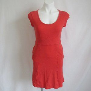 Toad & Co Red FLEXCEL Cap Sleeve Dress S